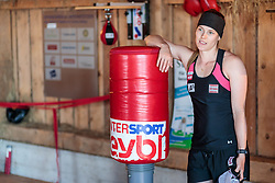 19.06.2017, Powerhof, Adnet, AUT, OeSV, Boxtraining Damen Slalom Team, im Bild Carmen Thalmann (AUT) // during a Boxing Training Camp of the Austrian Ladies Slalom Team at the Powerhof in Adnet, Austria on 2017/06/19. EXPA Pictures © 2017, PhotoCredit: EXPA/ JFK