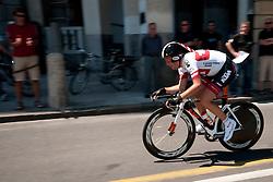 Cyclist of Tirol during chronometer (17,8km) of Tour de Slovenie 2012, on June 17 2012, in Ljubljana, Slovenia. (Photo by Urban Urbanc / Sportida.com)
