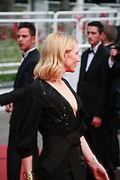 Actress Cate Blanchett at the gala screening for the film Sicario at the 68th Cannes Film Festival, Tuesday May 19th 2015, Cannes, France.