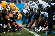 December 17, 2017: Carolina Panthers vs the Greenbay Packers.