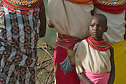 A young, married Samburu girl
