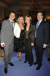 Left to right, PATSY KENSIT and JEREMY HEALY and Actor MICHAEL BRANDON his wife actress GLYNIS BARBER at the 10th Anniversary Party of the Lavender Trust, Breast Cancer charity held at Claridge's, Brook Street, London on 1st May 2008.<br />