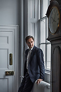 London, England, Uk, February 5 2019 - Portrait of Dr Robin Niblett at his office. Mr Niblett is the Director of The Royal Institute for International Affairs, a Think Tank commonly known as Chatham House.