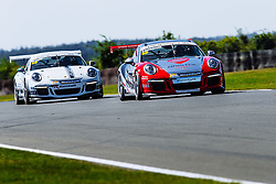 Dino Zamparelli | Bristol Sport Racing | #88 Porsche 911 GT3 Cup Car | Porsche Carrera Cup GB | Race 1 - Mandatory byline: Rogan Thomson/JMP - 07966 386802 - 09/08/2015 - MOTORSPORT - Snetterton Circuit - Norwich, England - BTCC Meeting Day 2.