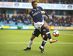 January 27, 2018 - London, United Kingdom - Fred Onyedinma of Millwall.during FA Cup 4th Round match between Millwall against Rochdale  at The Den, London on 27 Jan 2018  (Credit Image: © Kieran Galvin/NurPhoto via ZUMA Press)