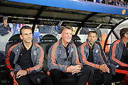 Manchester United Manager Louis van Gaal during the Champions League Qualifying Play-Off Round match between Club Brugge and Manchester United at the Jan Breydel Stadion, Brugge, Belguim on 26 August 2015. Photo by Phil Duncan.