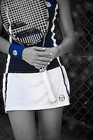 OLOT, SPAIN - JUNE 14:  Tommy Robredo for Sergio Tacchini on June 14, 2014 in Olot, Spain. (Photo by Manuel Queimadelos)