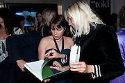 SADIE FROST, Told, The Art of Story by Simon Aboud. Published by Booth-Clibborn editions. Book launch party, <br /> St Martins Lane Hotel, 45 St Martins Lane, London WC2. 8 June 2009