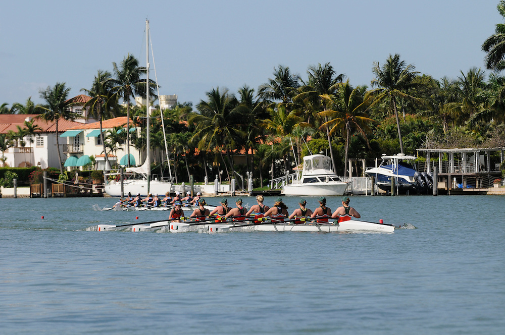 2013 Miami Hurricanes Rowing