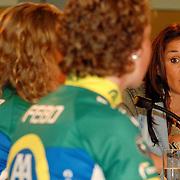 NLD/Alphen aan de Rijn/20060308 - Presentatie nieuwe wielerploeg Leontien van Moorsel, AA Drink Cycling team, Leontien