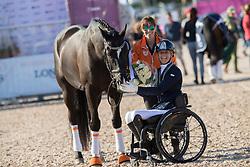 Den Dulk Nicole, NED, Wallace NOP<br /> FEI European Para Dressage Championships - Goteborg 2017 <br /> © Hippo Foto - Dirk Caremans