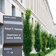 US Department of Justice, Robert F. Kennedy Building, on Pennsylvania Avenue, Washington DC