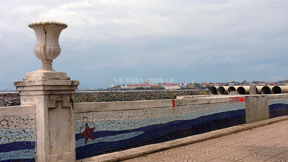 Avenida Balboa, construccion de la Cinta Costera 2008(Victoria Murillo/Istmophoto)