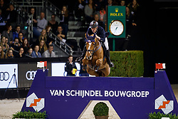 Raijmakers Piet Jr, NED, Van Schijndel's Double Bee<br /> The Dutch Masters<br /> Indoor Brabant - 's Hertogen bosch 2018<br /> © Hippo Foto - Dirk Caremans<br /> 10/03/2018