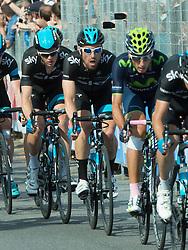 01.06.2014, Triest, ITA, Giro d Italia 2014, 21. Etappe, Gemona del Friuli nach Triest, im Bild Bernhard Eisel, AUT (#194, Team Sky) // Bernhard Eisel, AUT (#194, Team Sky) during the final stage of the Giro d' Italia 2014 at Stage 21 from Gemona del Friuli to Trieste, Italy on 2014/06/01. EXPA Pictures © 2014, PhotoCredit: EXPA/ R. Eisenbauer