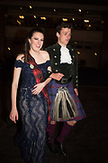 TATIANA BELL, CAMERON MONTGOMERY, The Royal Caledonian Ball 2017, Grosvenor House, 29 April 2017