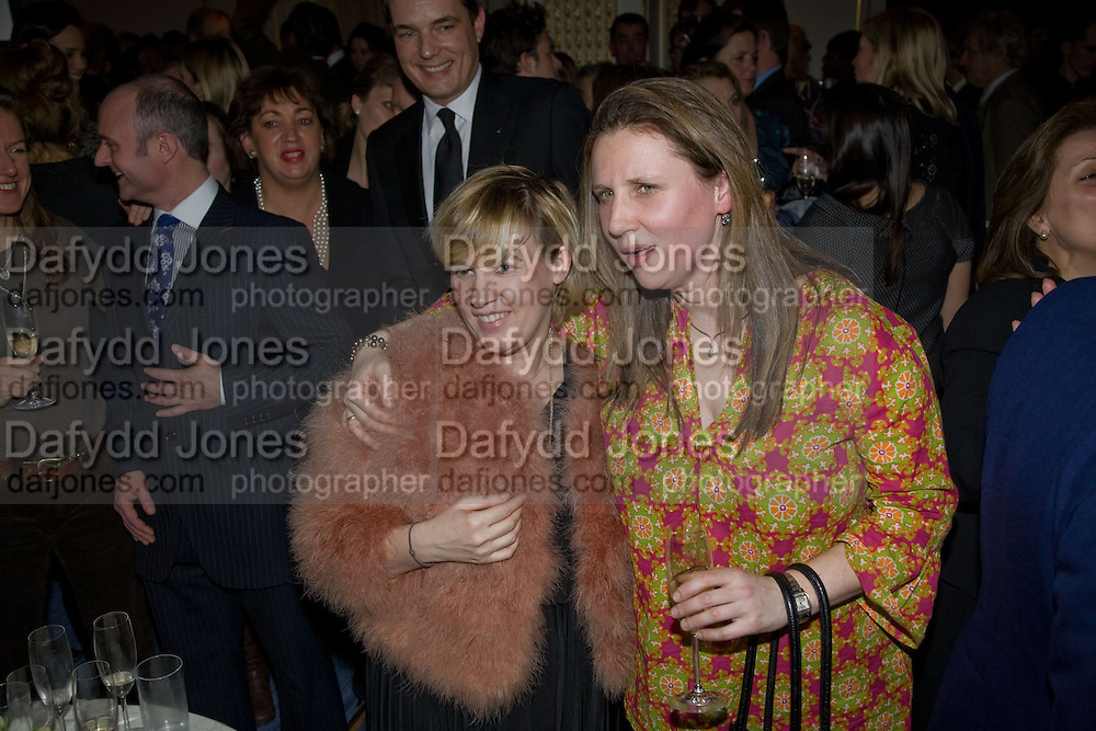Helene Darroze; ANGELA HARTNETT, Tatler Restaurant Awards. Mandarin Oriental Hyde Park. Knightsbridge. London. 19 January 2009<br /> Helene Darroze; ANGELA HARTNETT, Tatler Restaurant Awards. Mandarin Oriental Hyde Park. Knightsbridge. London. 19 January 2009 *** Local Caption *** -DO NOT ARCHIVE-&copy; Copyright Photograph by Dafydd Jones. 248 Clapham Rd. London SW9 0PZ. Tel 0207 820 0771. www.dafjones.com.