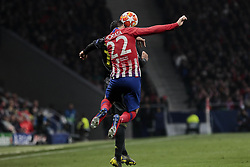 February 20, 2019 - Madrid, Madrid, Spain - Atletico de Madrid's Alvaro Morata during UEFA Champions League match, Round of 16, 1st leg between Atletico de Madrid and Juventus at Wanda Metropolitano Stadium in Madrid, Spain. February 20, 2019. (Credit Image: © A. Ware/NurPhoto via ZUMA Press)
