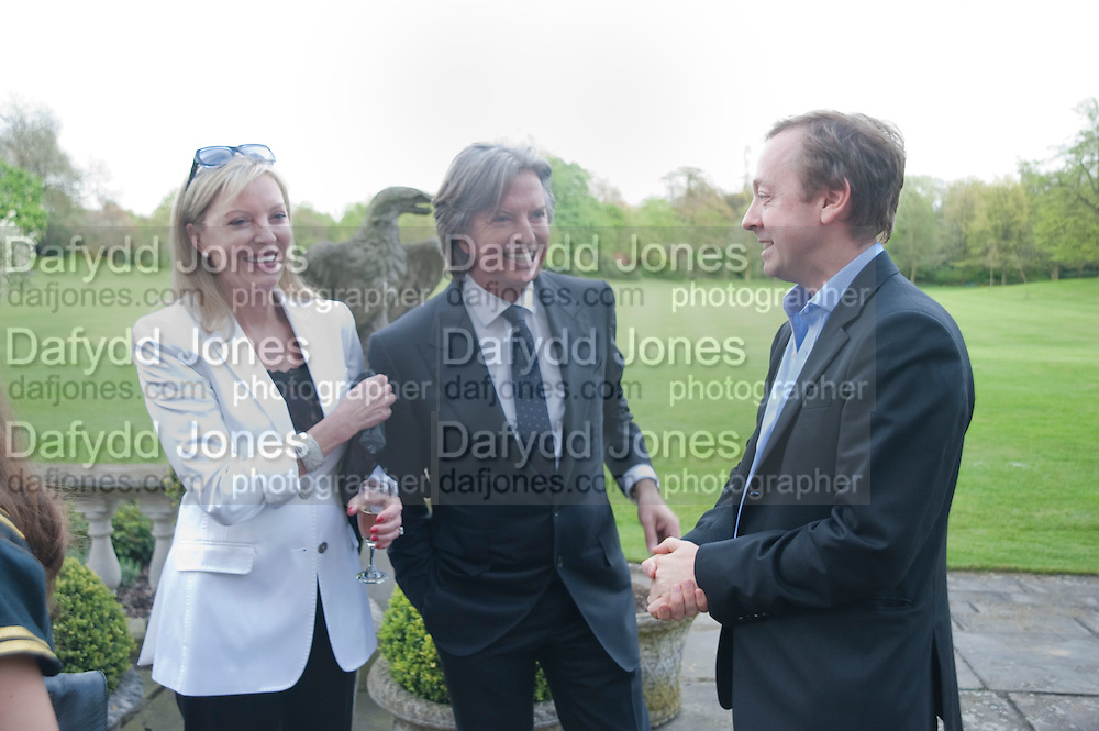 JACKIE CARING; RICHARD CARING; GEORDIE GREIG, Reception to launch American Ballet TheatreÕs  International Council in support of cross-cultural educational exchange and international touring.<br /> An educational exchange program between<br /> American Ballet Theatre and The Royal Ballet. Hosted by AMBASSADOR LOUIS B. SUSMAN, MRS. MARJORIE SUSMAN. Winfield House. Regents Park. London. 27 April 2010 *** Local Caption *** -DO NOT ARCHIVE-© Copyright Photograph by Dafydd Jones. 248 Clapham Rd. London SW9 0PZ. Tel 0207 820 0771. www.dafjones.com.<br /> JACKIE CARING; RICHARD CARING; GEORDIE GREIG, Reception to launch American Ballet Theatre's  International Council in support of cross-cultural educational exchange and international touring.<br /> An educational exchange program between<br /> American Ballet Theatre and The Royal Ballet. Hosted by AMBASSADOR LOUIS B. SUSMAN, MRS. MARJORIE SUSMAN. Winfield House. Regents Park. London. 27 April 2010