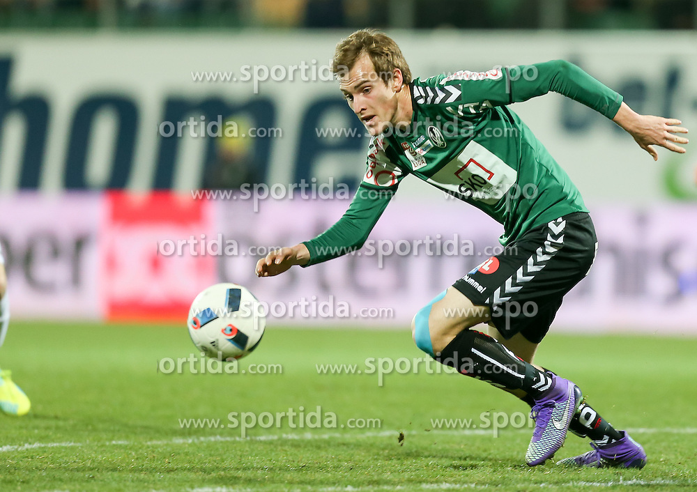 12.03.2016, Keine Sorgen Arena, Ried, AUT, 1. FBL, SV Josko Ried vs SCR Altach, 27. Runde, im Bild Fabian Schubert (SV Josko Ried) // during the Austrian Football Bundesliga 27th Round match between SV Josko Ried and SCR Altach at the Keine Sorgen Arena in Ried, Austria on 2016/03/12. EXPA Pictures © 2016, PhotoCredit: EXPA/ Roland Hackl
