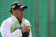 Warriors head coach Russell Domingo during the Warriors training session held at St Georges Park in Port Elizabeth on the 16 September 2010..Photo by: Shaun Roy/SPORTZPICS/CLT20