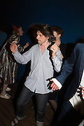 JEREMY DELLER, , Sarah Lucas- Scream Daddio party hosted by Sadie Coles HQ and Gladstone Gallery at Palazzo Zeno. Venice. 6 May 2015.