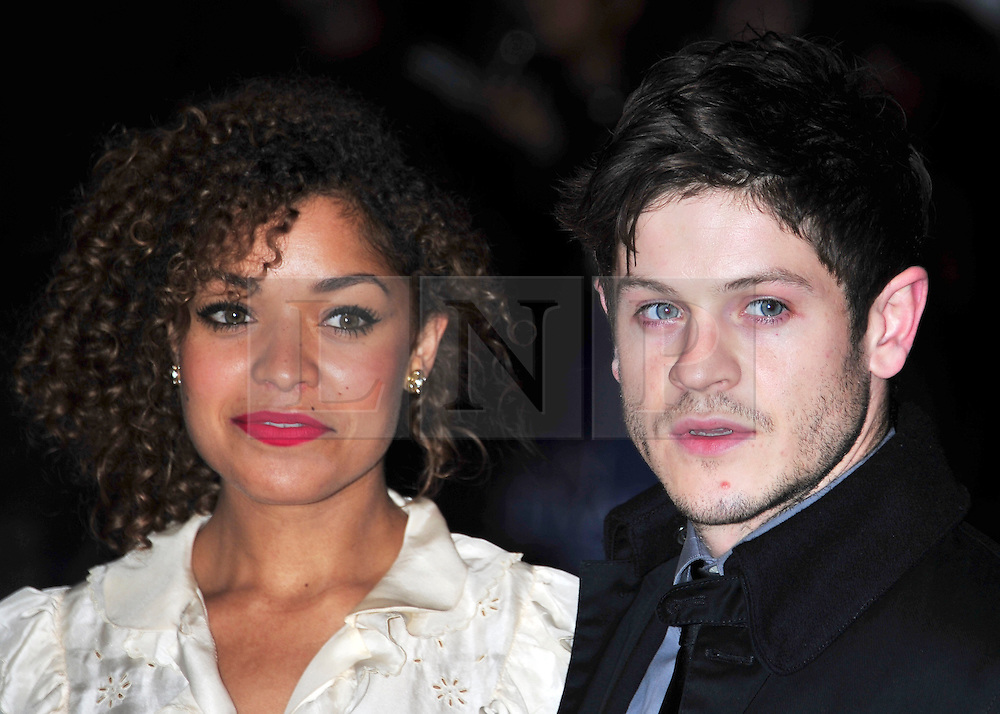 """© Licensed to London News Pictures. 21/10/2011. London,England. Iwan Rheon attends the European Premiere of """"Wild Bill"""" at  the 55th British Film Festival in Leicester square London  Photo credit : ALAN ROXBOROUGH/LNP"""