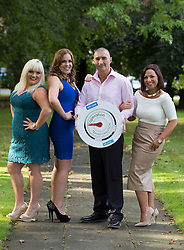Repro Free: 30/09/2014 <br /> Friends reunited, Deirdre O&rsquo;Donovan, Siobhan McKillen, Marc Gibbs and Jennifer Bonus  Operation Transformation 2013 leaders are pictured as RT&Eacute; put the call out for leaders for the upcoming Operation Transormation 2014. http://www.rte.ie/ot . Picture Andres Poveda