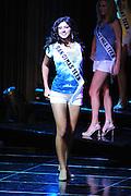 """November 22, 2009; Rancho Mirage, CA, USA; Miss San Dimas Teen USA Michelle Cirrito during the Miss California Teen USA 2010 Pageant at """"The Show"""" at the Agua Caliente Resort & Spa. Mandatory Credit: Kyle Terada-Terada Photo"""