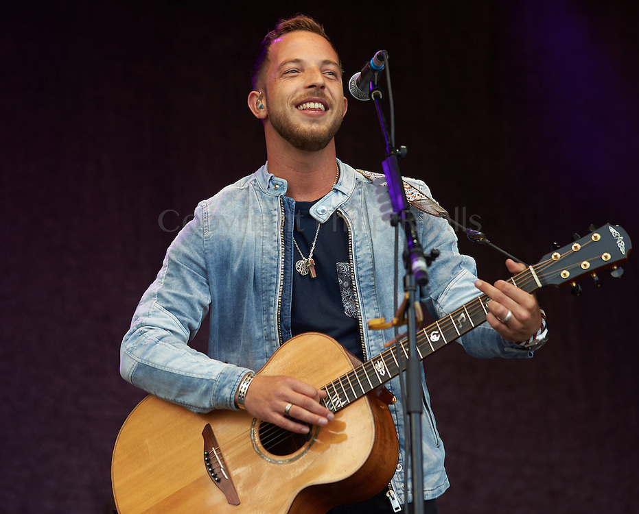 OXFORDSHIRE, UK - JULY 10: James Morrison performs on stage at The Cornbury Music Festival on July 10th, 2016 in Oxfordshire, United Kingdom. (Photo by Philip Ryalls)**James Morrison