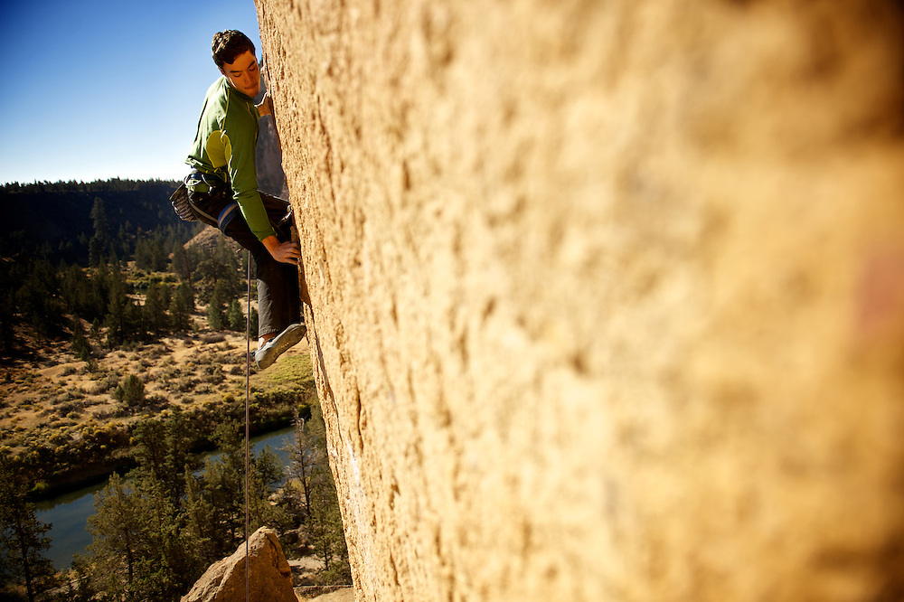 "Kevin Ziechmann climbs his dream via the American Alpine Club's ""Climb Your Dream"" grant at Smith Rock in Oregon"