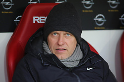 19.01.2013, Coface Arena, Mainz, GER, 1. FBL, 1. FSV Mainz 05 vs SC Freiburg, 18. Runde, im Bild SC-Trainer Christian Streich // during the German Bundesliga 18th round match between 1. FSV Mainz 05 and SC Freiburg at the Coface Arena, Mainz, Germany on 2013/01/19. EXPA Pictures © 2013, PhotoCredit: EXPA/ Eibner/ Matthias Neurohr..***** ATTENTION - OUT OF GER *****