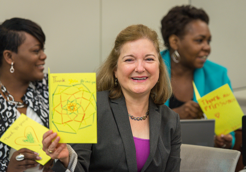 Houston ISD principals attend the Professional Learning Series, October 3, 2015.