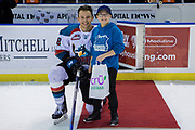 KELOWNA, CANADA - FEBRUARY 07:  First Star of the Game Carsen Twarynski #18 of the Kelowna Rockets at the Kelowna Rockets game on February 07, 2018 at Prospera Place in Kelowna, British Columbia, Canada.  (Photo By Cindy Rogers/Nyasa Photography,  *** Local Caption ***
