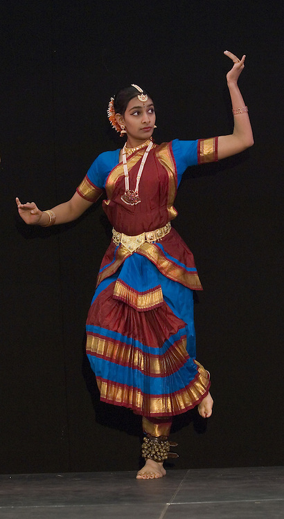 Bharatanatyam classical indian dancer<br />