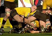 29/02/2004  -  Powergen  Cup - London Wasps v Pertemps Bees .Wasps Harvey Biljon   [Mandatory Credit, Peter Spurier/ Intersport Images].