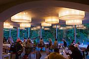 Neufelden, Austria. The gourmet restaurant at Genießerhotel Mühltalhof.