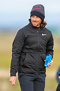 Tommy Fleetwood during the final round of the Alfred Dunhill Links Championships 2018 at West Sands, St Andrews, Scotland on 7 October 2018