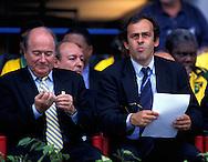 FIFA World Cup - France 1998.Joseph S. Blatter & Michel Platini.©Juha Tamminen