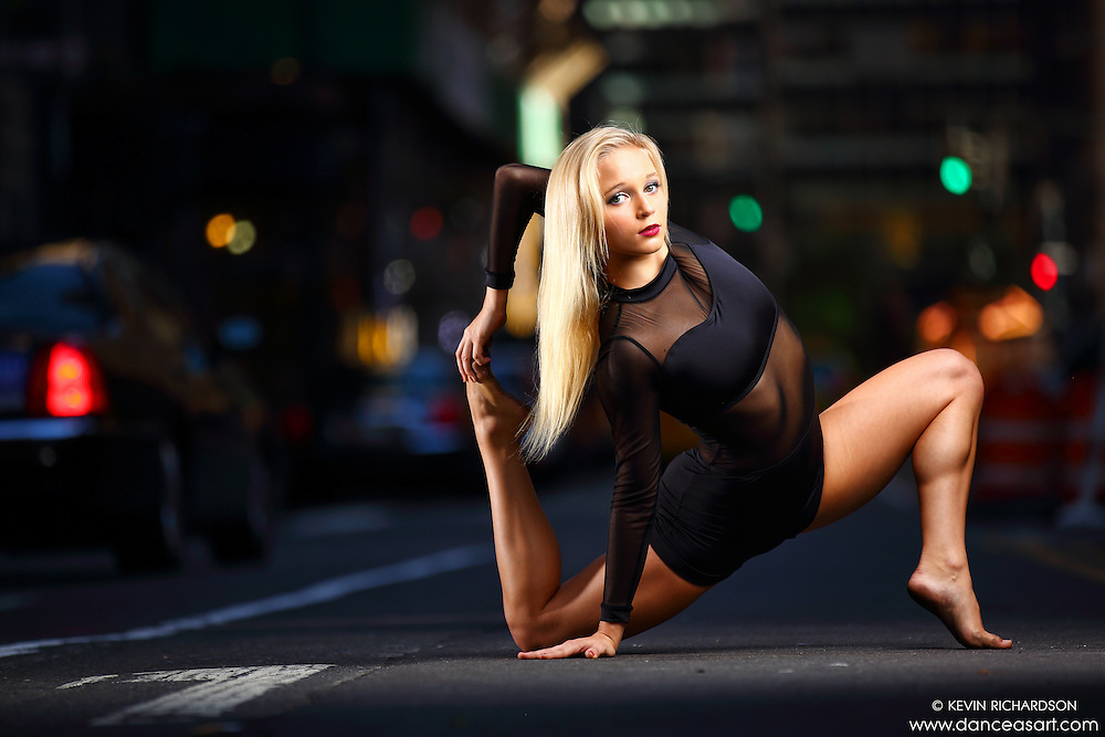 Dance As Art New York City Photography Project Midtown Manhattan with dancer, Maren Clemsen.