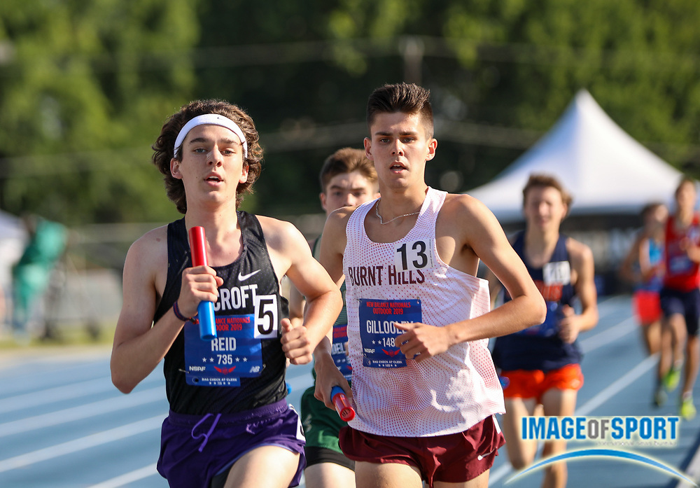 Brothers TC-New Jersey won the boys 4x Mile Relay Championship in 17:20.14 during the New Balance Outdoor Nationals, Sunday, June 16, 2019, in Greensboro, NC. (Brian Villanueva/Image of Sport)