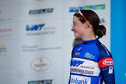 Marianne Vos (Rabo Liv) takes the lead in the sprints competition at Thüringen Rundfarht 2016 - Stage 6 a 130 km road race starting and finishing in Schleiz, Germany on 20th July 2016.