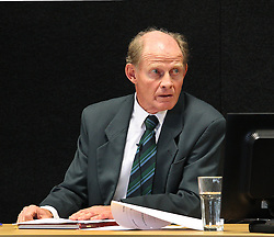 "Tim Sinclair gives evidence at the Canterbury Earthquakes Royal Commission Hearings programme in Christchurch on the 249 Madras Street (CTV), Christchurch, New Zealand, Wednesday, July 25, 2012. Credit:SNPA / The Press, Stacy Squires  ""POOL"""