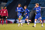 Gillingham midfielder Bradley Dack celebrates his goal to make it 2-1 to Gillingham during the Sky Bet League 1 match between Gillingham and Peterborough United at the MEMS Priestfield Stadium, Gillingham, England on 23 January 2016. Photo by David Charbit.