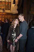 ADAM LANNON; ALIX WILTON REGAN, The Almeida Theatre  celebrates Mike Attenborough's 11 brilliant years as Artistic Director. Middle Temple Hall,<br /> Middle Temple Lane, London, EC4Y 9AT