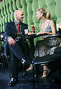 SHOT 11/27/2006 - A young couple shares appetizers and drinks at Jazz at Jacks in The Pavillions on the 16th Street Mall in Denver, Co.(Photo by MARC PISCOTTY)