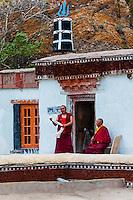 Hemis Monastery, Ladakh, Jammu and Kashmir State, India.