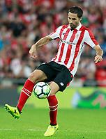 Athletic Club de Bilbao's Xavier Etxeita during Europa League Play-off, 2nd leg. August 24,2017. (ALTERPHOTOS/Acero)