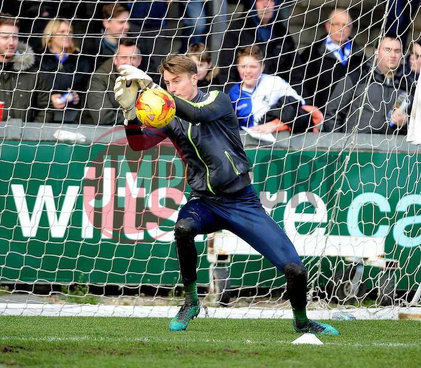 Joe Lumley of Bristol Rovers - Mandatory by-line: Neil Brookman/JMP - 28/01/2017 - FOOTBALL - Memorial Stadium - Bristol, England - Bristol Rovers v Swindon Town - Sky Bet League One