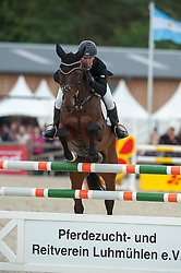 Kevin McNab (AUS) - Clifton Pinot <br /> Jumping - CCI4* Luhmühlen 2012<br /> © Hippo Foto - Jon Stroud
